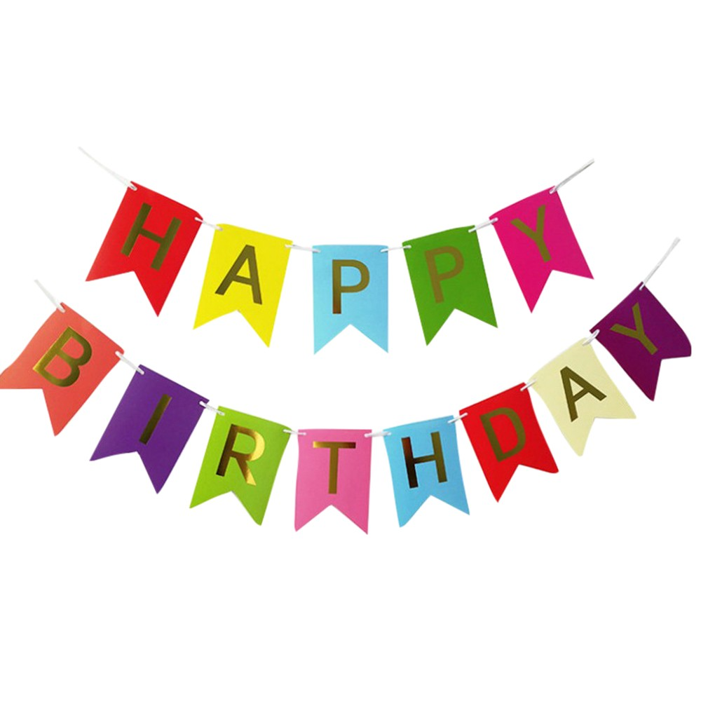 "/""Happy Birthday/"" Bunting"