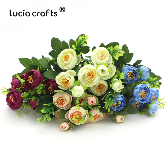 Wedding Bouquets Without Flowers: SALE! Lucia Crafts 1 Bouquet,without Vase Artificial