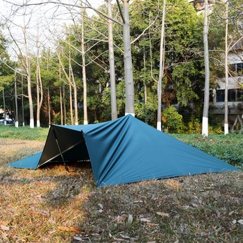 3F UL GEAR Ultralight Tarp Outdoor Camping Survival Sun Shelter Shade Awning Silver Coating Pergola Waterproof Beach Tent 3