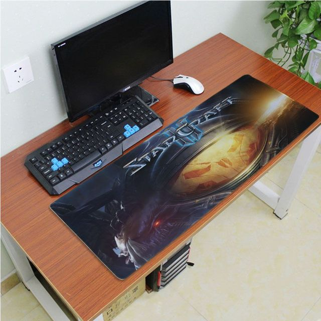 Yinuoda Beautiful Anime Starcraft Rubber Mouse Durable Desktop Mousepad Size for 180*220 200*250 250*290 300*600 and 400*900*2mm 3