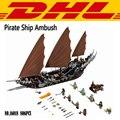 2017 NUEVO 16018 806 Unids de El Señor de los Anillos de Barco Pirata emboscada Modelo Kits de Construcción de Juguetes de Bloques de Ladrillos Compatibles Con El Regalo 79008