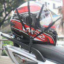 60 cm accesorios cascos casco de la motocicleta red de equipaje cuerda para FF370 LS2 FF396 LS2 FF358 casco JIEKAI casco YEMA casco Universal cuerda