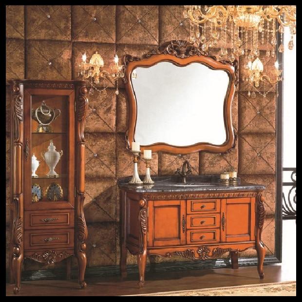 high quality european style antique bathroom cabinet ...