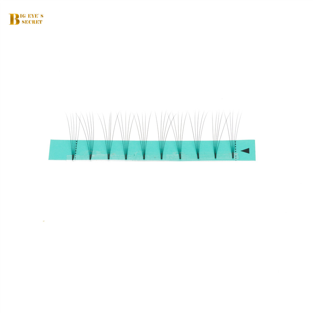 BES Premade Fans High Quality Russian Volume Lashes Extension 3D-6D Mink Eyelashes 8-18mm False