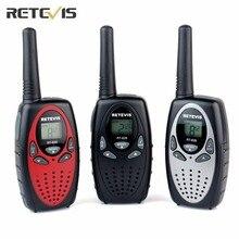 2 unids retevis rt628 niños walkie talkie uhf transceptor frecuencia europa 0.5 w 8ch 446 mhz pantalla lcd de radio de juguete comunicador a1026