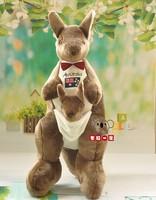 Товары высокого качества Симпатичные кенгуру большой 95 см Плюшевые игрушки кенгуру кукла подарок на Новый год d969
