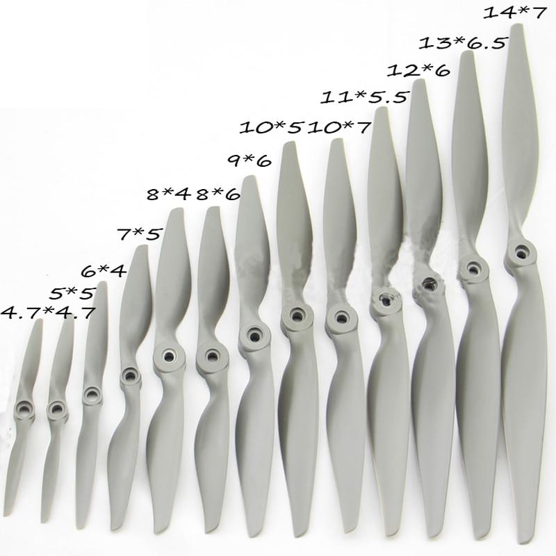 APC propeller For Fixed wing Nylon propeller Multi-Copter Fast propeller RC aircraft 10*7E 9*6E 8*6E 12*6E 7*5E (not Original)