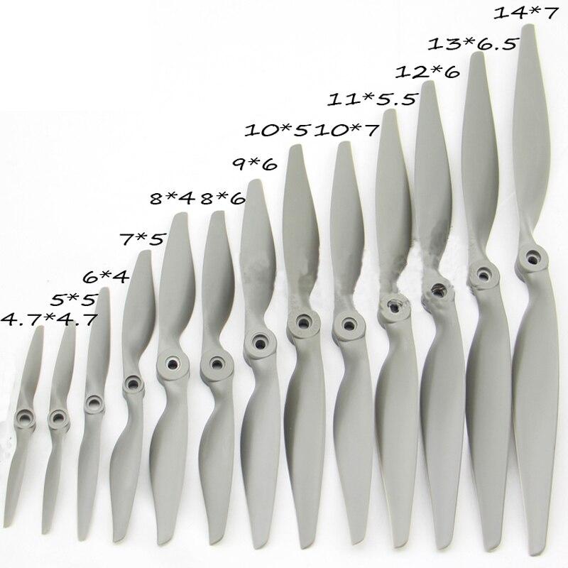 APC propeller For Fixed wing Nylon propeller Multi-Copter Fast propeller RC aircraft 10*7E 9*6E 8*6E 12*6E 7*5E (not Original) carbon fiber spinner for 2 blades porp fixed wing rc aircraft 3 3 5 4 4 5 5 5 5 6