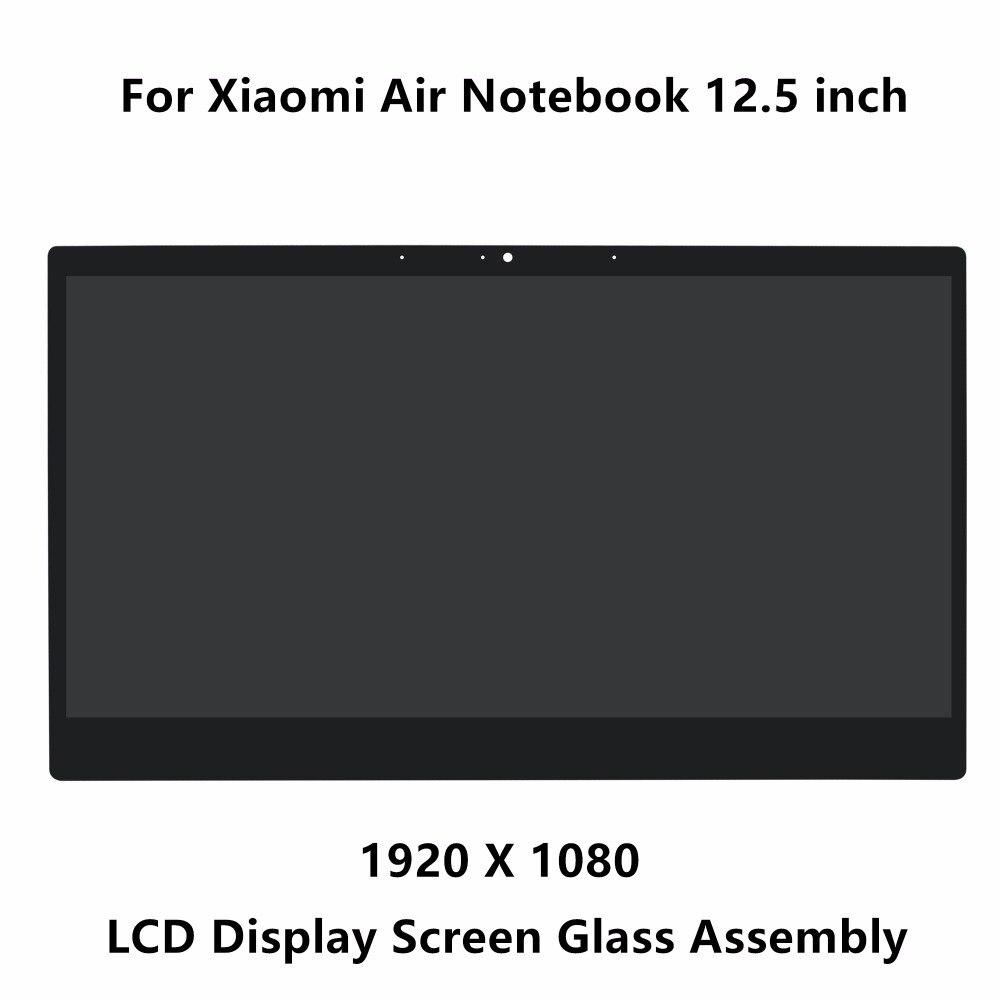 12.5 pouce Pour Xiaomi Air Notebook LCD Écran LED Matrice D'affichage En Verre L'assemblée 1920x1080 Résolution NV125FHM-N82 30pins IPS