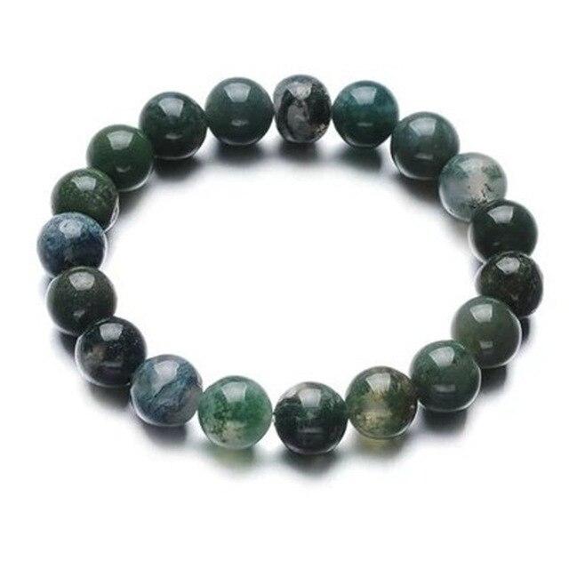 Bracelet Jaspe Vert Pour Femme 4