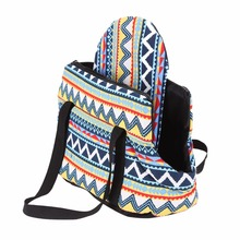 Colorful Soft Dog Carrier Bag