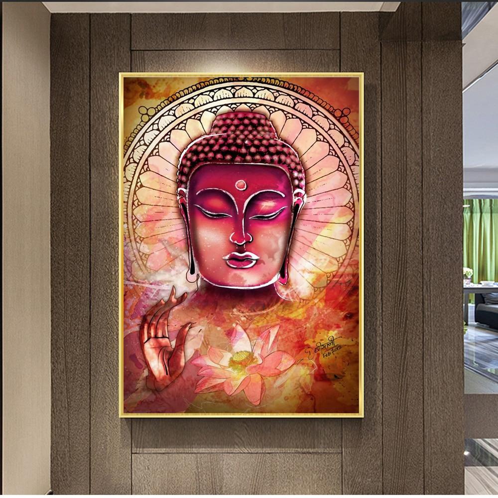Buddha Wall Art Canvas Prints Abstract