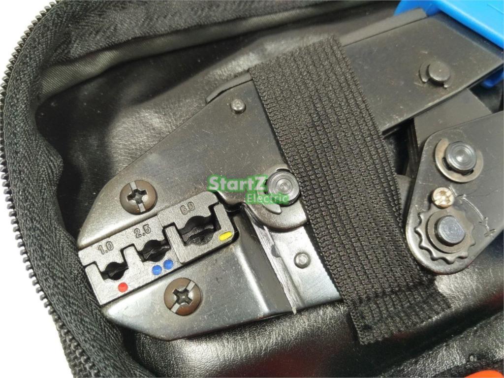 Gofravimo rankinis įrankis su die die elektriko gniuždymo vielos - Įrankių komplektai - Nuotrauka 3