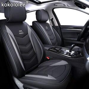 Image 2 - High quality PU Leather car seat covers fit volkswagen vw passat b5 b6 polo golf tiguan 5 6 7 jetta touran touareg sticker style