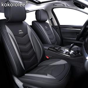 Image 2 - Hoge Kwaliteit Pu Lederen Auto Stoelhoezen Fit Volkswagen Vw Passat B5 B6 Polo Golf Tiguan 5 6 7 Jetta Touran touareg Sticker Stijl