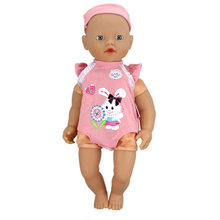Outfit Wear for 32cm My little Bayby Born Doll 13 Inch Dolls Clothes(only sell clothes)(China)