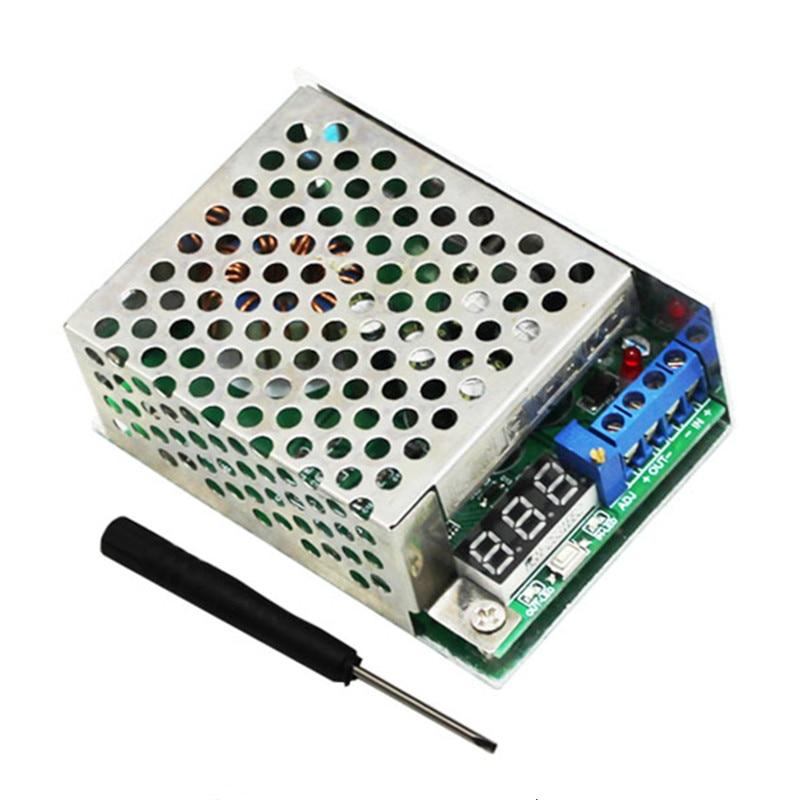 10A 300W High Power DC-DC Step Down Power Supply Module Adjustable Buck Converter Voltage Regulator With Voltage Meter