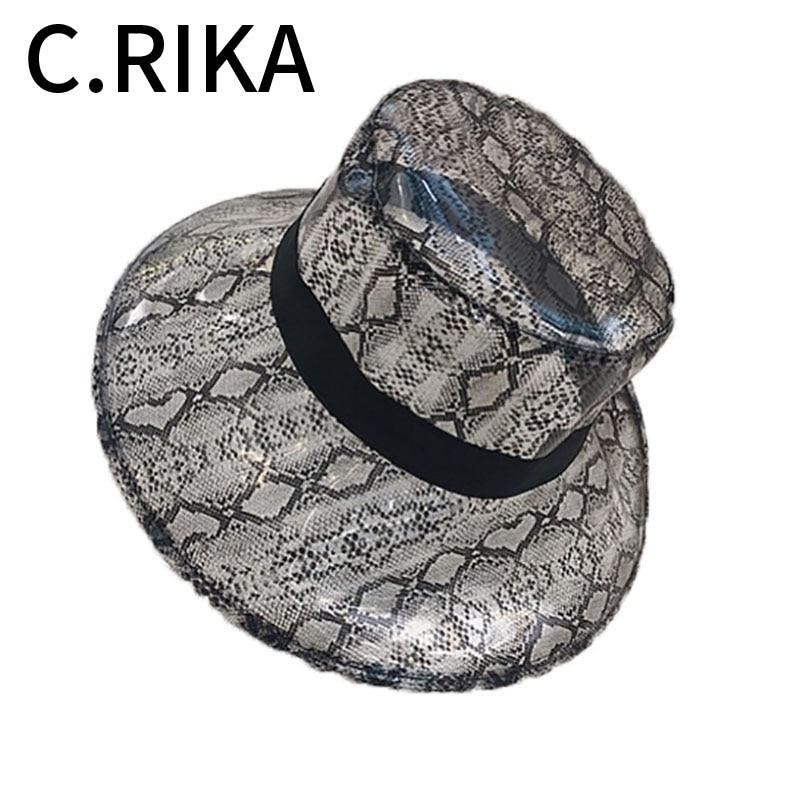 7dd09aea1d3b5 New Summer Transparent Women PVC Snake Skin Bucket Hat for Women Ladies  Beach Visor Waterproof Rain Cap Plastic Wide brimmed Hat-in Women s Bucket  Hats from ...