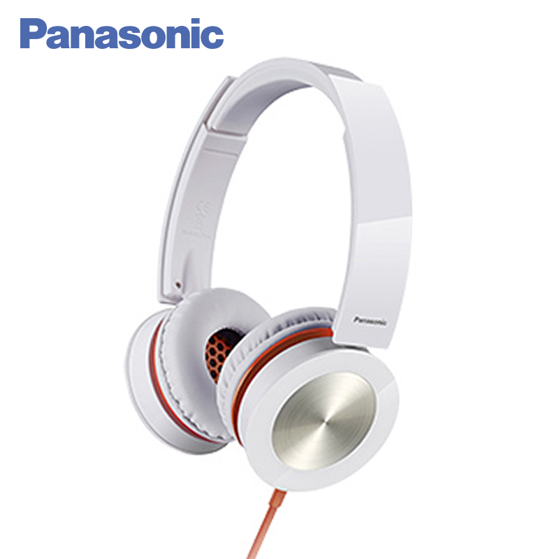 Panasonic RP-HXS400E-W Earphone wired noise cancelling HIFI sound headphones stereo headset original bingle b616 multifunction stereo wireless headset headphones with microphone fm radio for mp3 pc tv audio phones