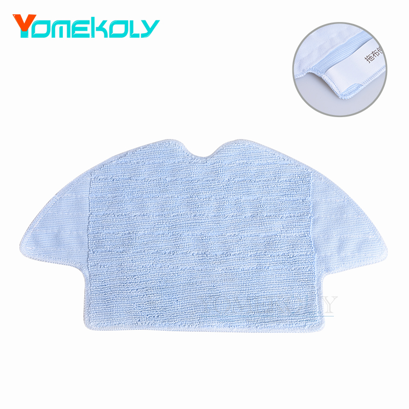Mop Cloths for 360 Sweeping Robot Vacuum Cleaner Spare Parts Kits Mopping Cloth Dry Wet Mopping Cloths 12pcs lot high quality robot vacuum cleaner wet mop hobot168 188 window clean mop cloth weeper vacuum cleaner parts