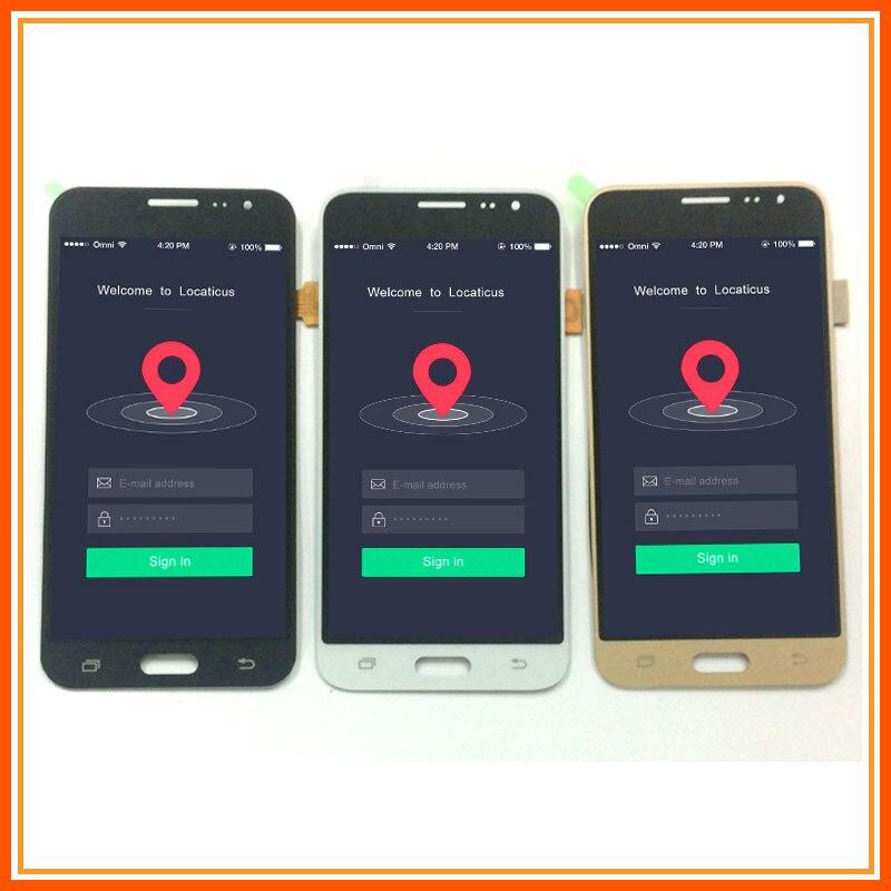Para Samsung Galaxy J3 2016 Display LCD j320 SM-J320F J320M J320FN J320H Display LCD + Digitador Da Tela de Toque sensor de Montagem