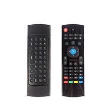 2.4GHz Wireless Mini Keyboard MX3 Keyboard With IR Learning Mode Air Mouse Remote Control For PC Laptop Android TV Box
