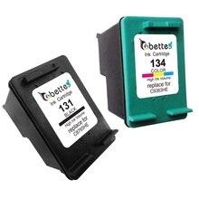 Чернильный Картридж Принтера для HP 131 134 hp131 hp134 Officejet 100 L411a L411b, 150 L511a, H470 H470b H470wbt H470wf, K7103 K7100 K7108