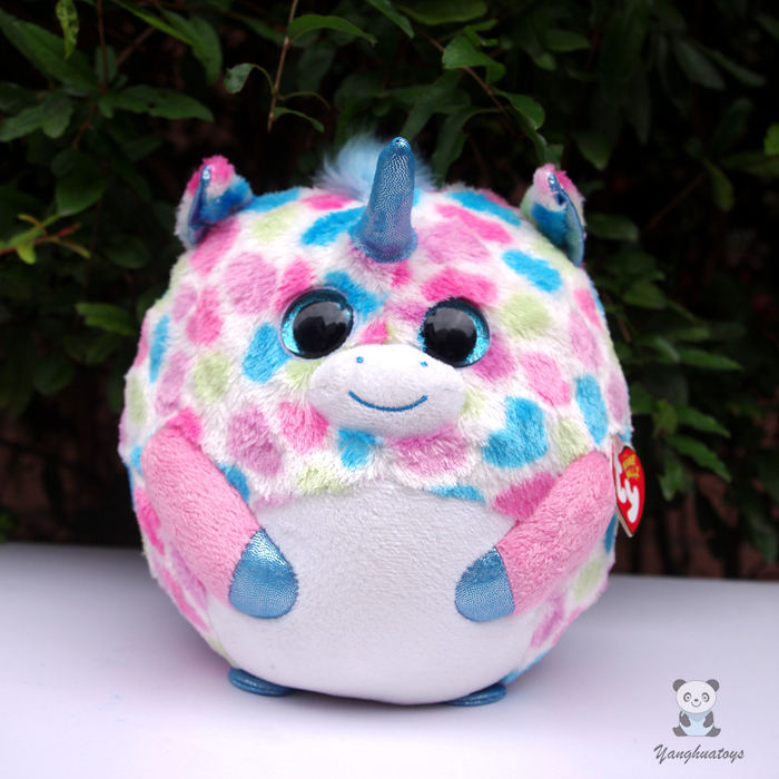 Big Eyes TY Ball Stuffed Animals  Unicorn Doll Plush Toys Cute Gift For Children One Piece super cute plush toy dog doll as a christmas gift for children s home decoration 20