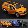 1:36 Audi Q7 Diecasts Сплава Модели Автомобиля Игрушка Мальчика Автомобиля Горячей колеса Автомобилей Дети Игрушки для Детей Машины Игрушки для Мальчиков Q7ORA