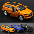 1:36 Audi Q7 Diecasts Alloy Car Model Boy Toy Car Hot Wheels Cars Kids Toys for Children Machines Toys for Boys Q7ORA