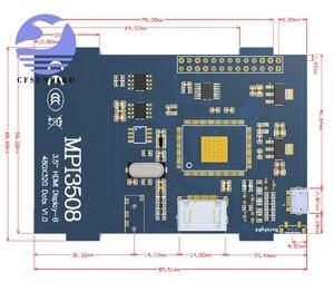 Image 5 - 3.5 inch LCD HDMI USB Touch Screen Real HD 1920x1080 LCD Display Py for Raspberri 4 Model B / Orange Pi (Play Game Video)MPI3508