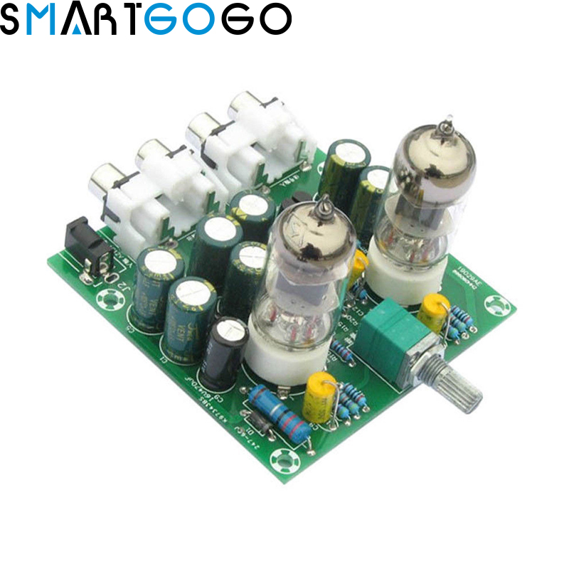 newest 6j1 tube preamp amplifier board pre amp headphone amp 6j1