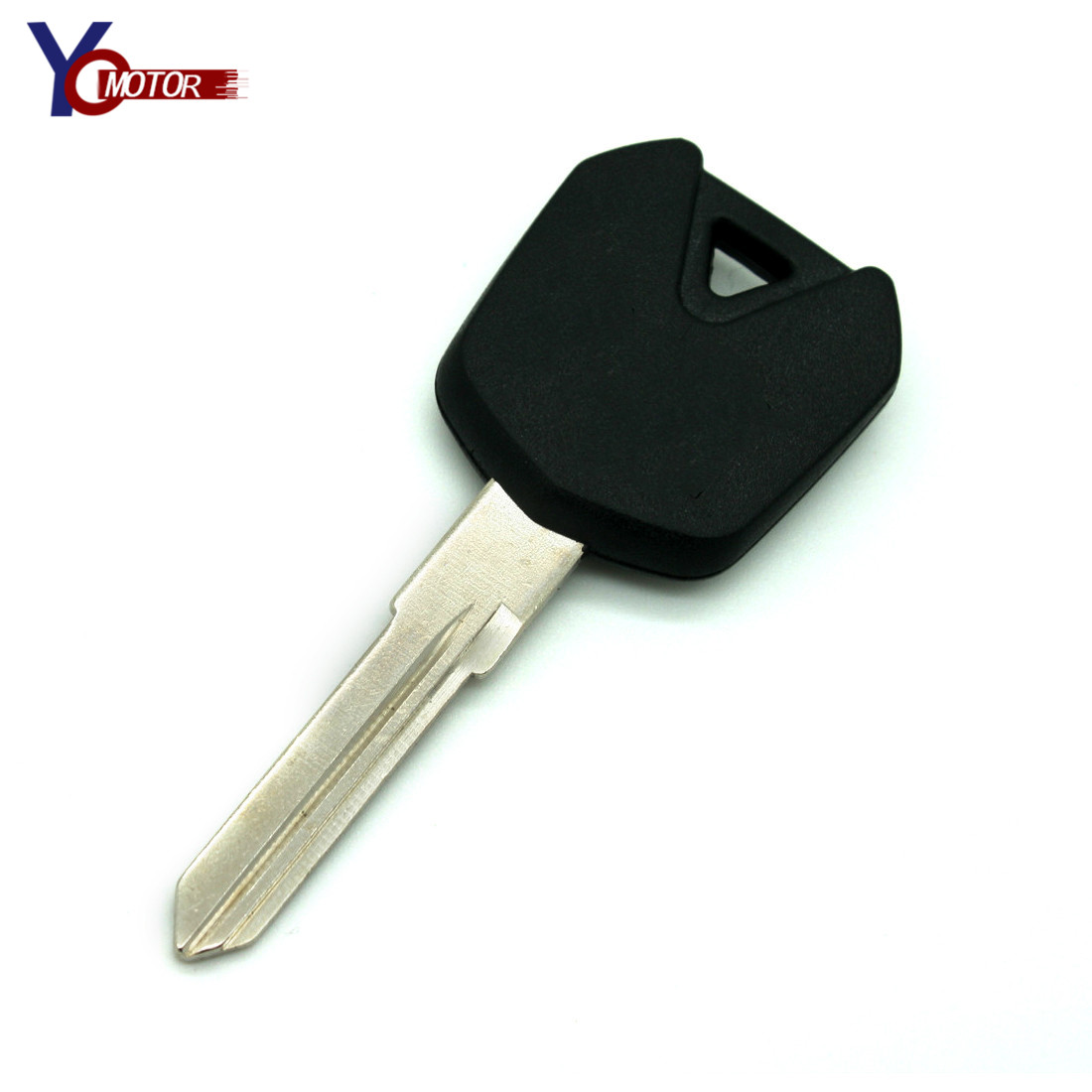 NEW Black Motorcycle Motocross Keys embryo rings Uncut Keyring MOTO accessories FOR <font><b>KAWASAKI</b></font> <font><b>NINJA</b></font> <font><b>250</b></font> ZX250R EX250 image
