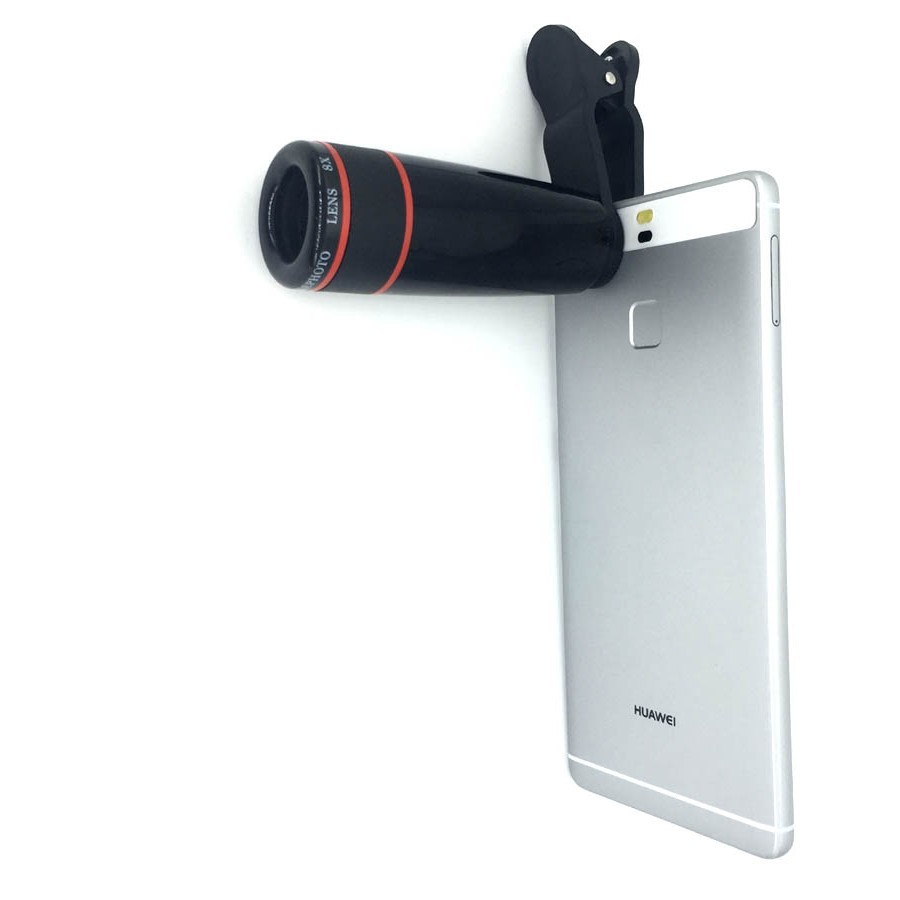 16 New 10in1 Phone Camera Lens Kit 8x Telephoto Lens + Wide Angle + Macro Lens +Fish Eye +Selfie Stick Monopod + Mini Tripod 8