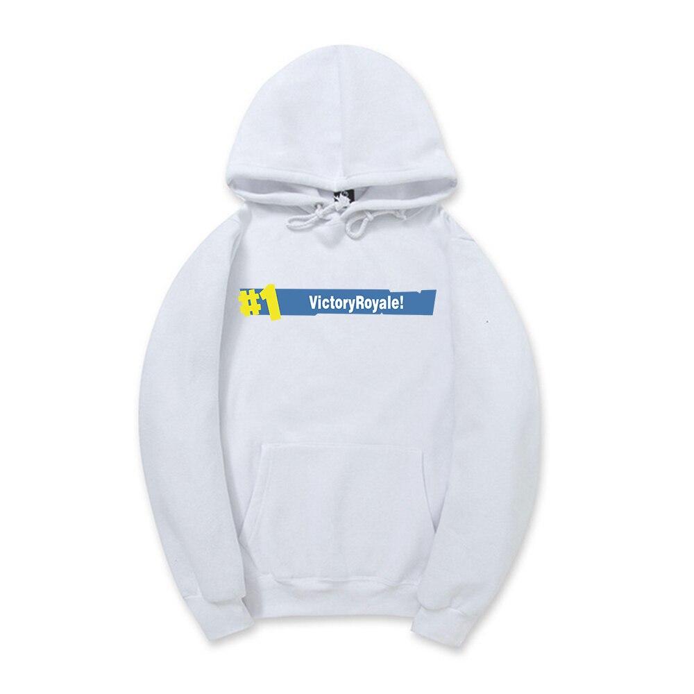 2018 new Fortnite Hoodie Sweatshirt for Women Men Hooded Pullover Oversized unisex Hoodies Streetwear Hip Hop Male Sweatshirts