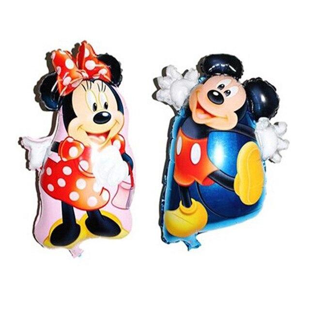Anime Mickey Minnie Cartoon Inflatable Helium Balloon Children