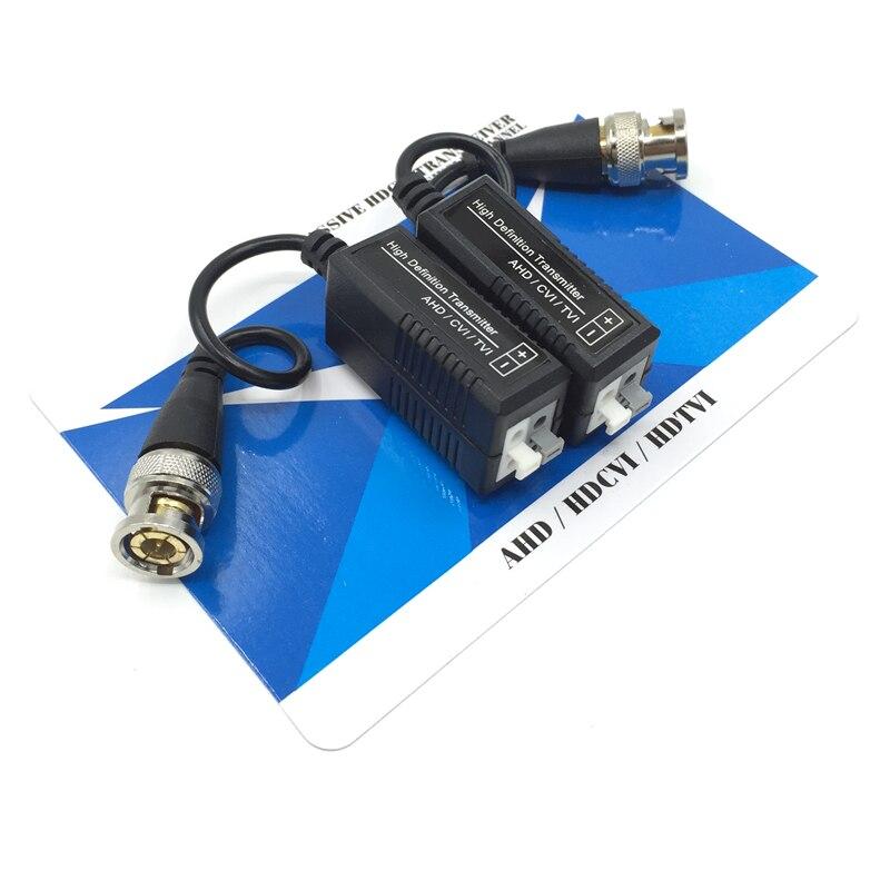 HD CCTV через витая пара адаптеров 720P HD CVI/TVI/AHD пассивный видео балун Мужчина BNC к UTP Cat5/5e/6 сети Камера
