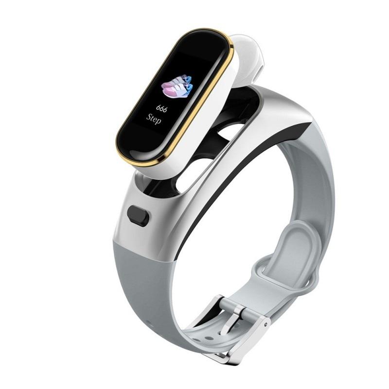 Nouveau mode H109 montre intelligente Bluetooth sans fil écouteur pression artérielle moniteur de fréquence cardiaque Bracelet intelligent pour Apple pour Iphone