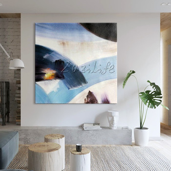 canvas painting caudros decoracion Nordic style acrylic painting modern abstract Wall art Pictures For Living Room Home Decor76