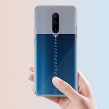 Oneplus 7 pro Case Soft Silicone tpu Transparent gradient phone case For Oneplus7 One Plus 7 pro 6t Coque case funda