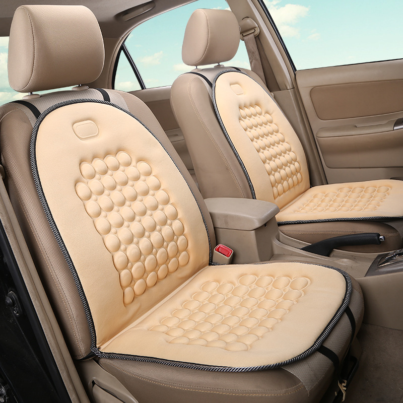 A Single Car MATS Single Seat The Four Seasons Office Cushion Massage Pad For Car Van Truck train Car styling seat covers