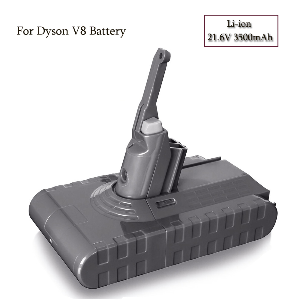 Mise à jour de la batterie V8 3500 mAh 21.6 V pour Dyson V8 batterie absolue V8 Animal Li-ion aspirateur batterie Rechargeable 3.5Ah
