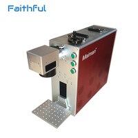 30w Portable Fiber Laser Marking Series For ABS PP PET Laser Engraving Machine 30W
