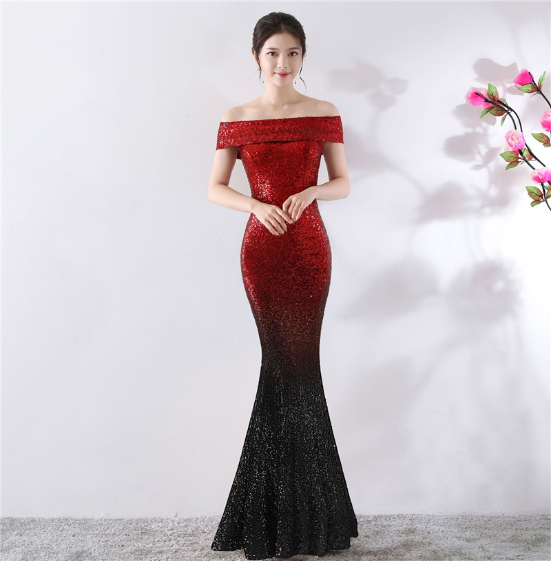 99c99b593cf Black red Sexy Femmes Hors Gold blue Wine Pour Silver Gold Robe And  Occasions Club Luxe ...