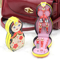 1 Set Cute Colorful Doll Nail Clippers Nail Beauty Manicure 6 in 1 Suits Random Color
