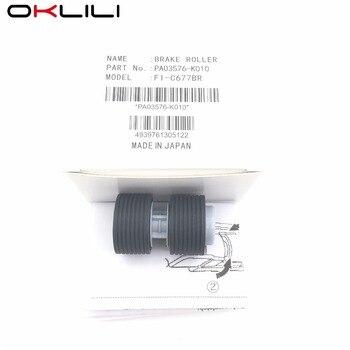 5PC PA03576-K010 PA03338-K010 Pickup Brake Roller for Fujitsu fi-6750 fi-6750S fi-6770 fi-6670 fi-5750C fi-5650C fi-5750 fi-5650 фото
