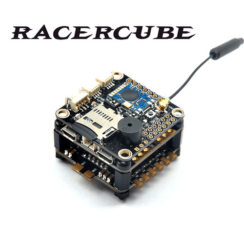 RacerCube Integrated F3 EVO 4 In 1 20A F396 ESC Frsky 8CH PPM/SBUS Receiver for X Racing Frame new 2 4g 8ch receiver ppm sbus output for frsky x9d plus xjt djt dft dht for rc multicopter fpv racing camera drone spare parts