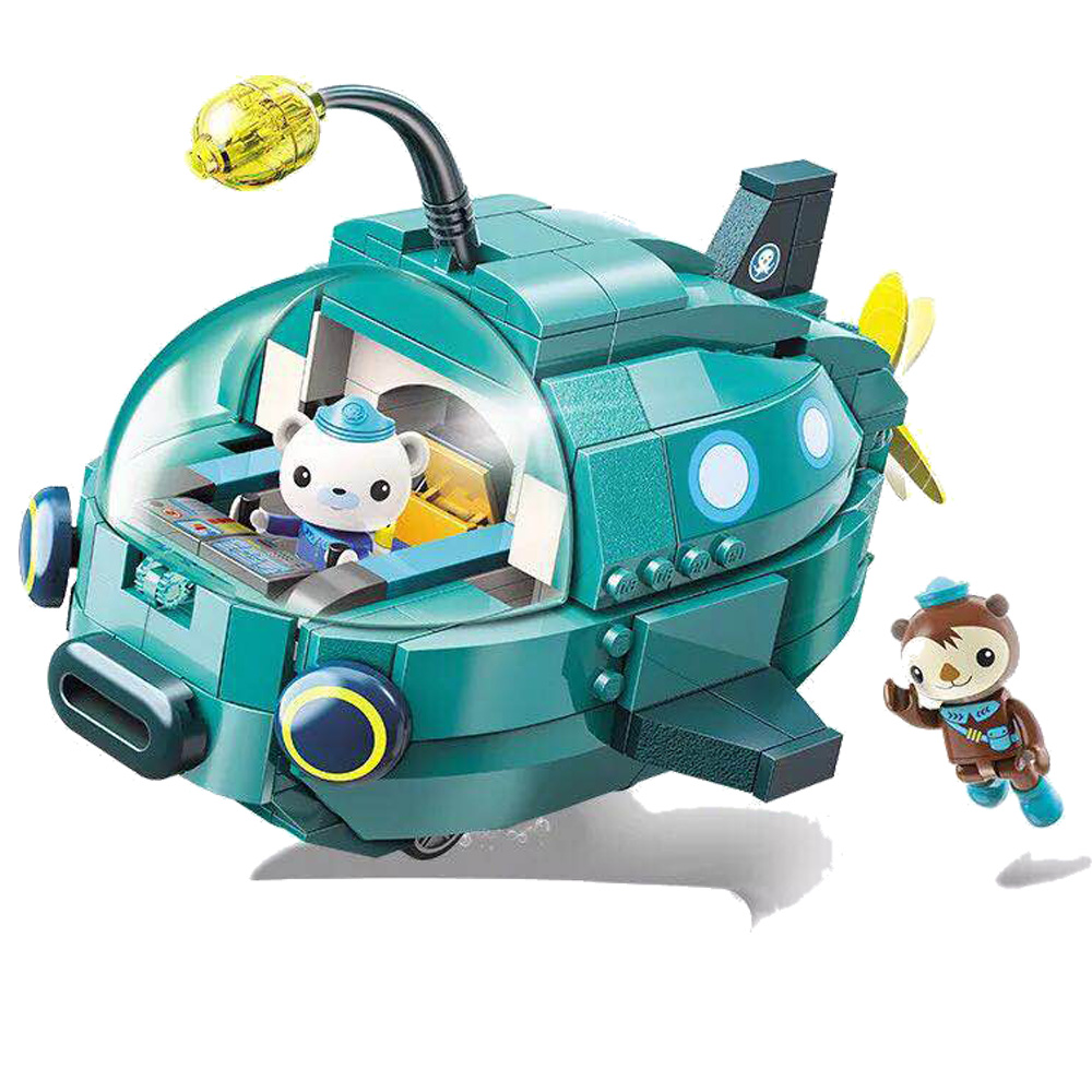 2019 New 3703 323pcs Octonauts Lantern Speedboat Yacht Compatible with legoergy Duplo Building Blocks Toys for Children gif in Blocks from Toys Hobbies