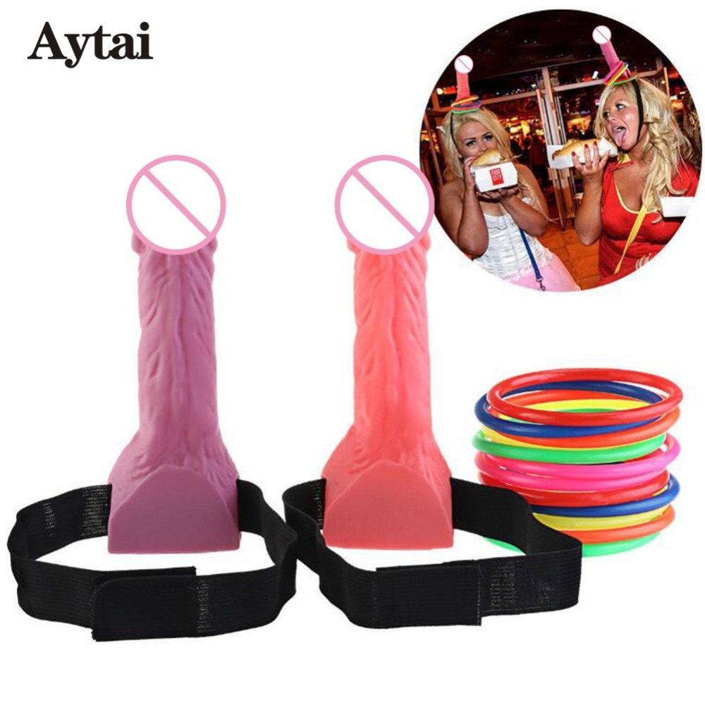 Aytai Bachelorette Ring Toss Games Hen Night Party Favor Game Bridal Shower Interesting Girls Bachelor Party Supplies ...