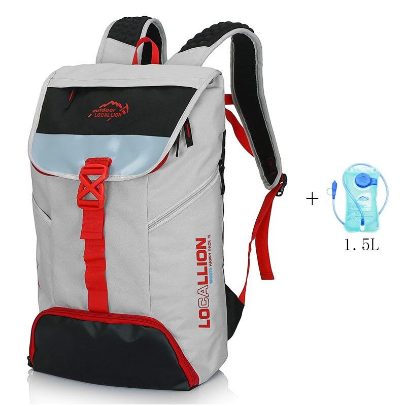 2017 nouveau sac à dos de cyclisme LION LOCAL avec sac d'eau 1.5L sac de vélo étanche à la pluie polyester pour hommes Sports VTT sacs à dos sacs